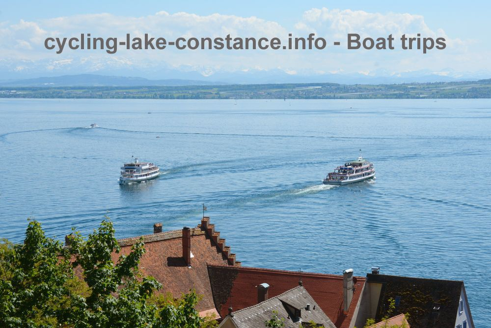 Cycling along Lake Constance - Boat trips on Lake Constance