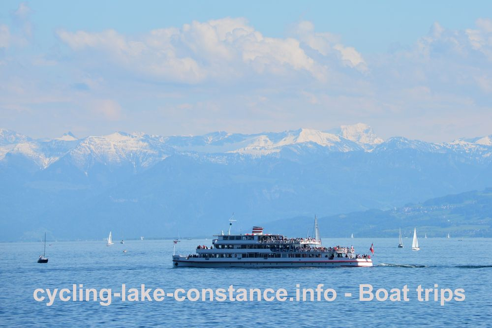 Boat trips on Lake Constance - MS Austria