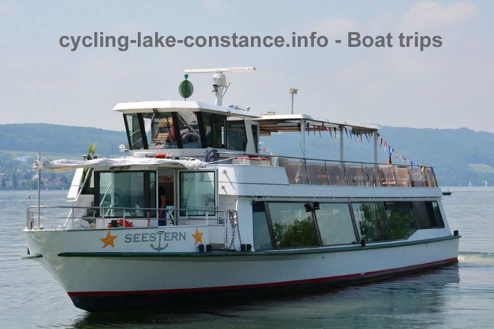 Boat trips on Lake Constance - MS Seestern