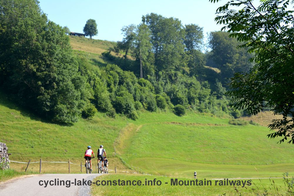 Cycling along Lake Constance - Lake Constance Mountain Railways