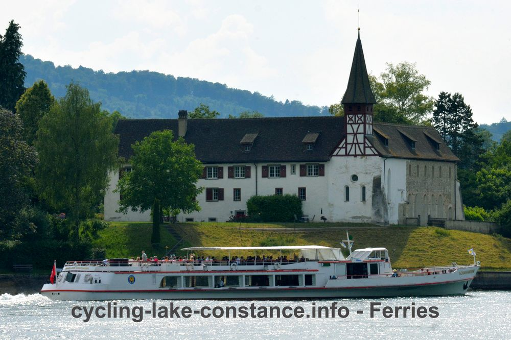 Ferries on Lake Constance - MS Schaffhausen