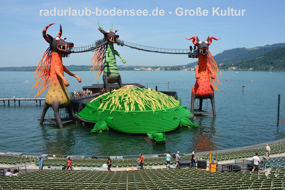 Opera at Lake Constance - Bregenz Festival
