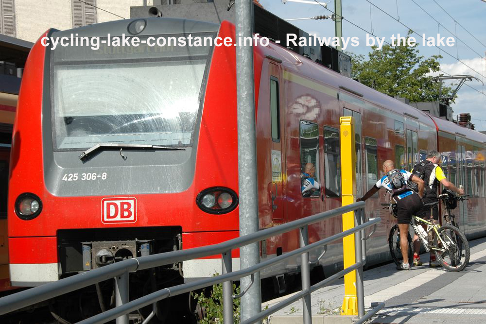 Railways - Lake Constance cycle route