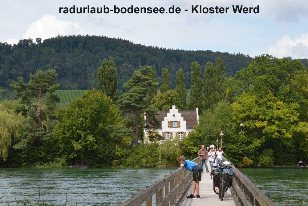 Cycling Lake Constance - Werd monastery