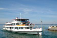 Cycling along Lake Constance - Boat trips